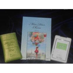 Мини-парфюм в кожаном чехле Dior Miss Dior Cherie L'eau 20ml