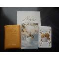Мини-парфюм в кожаном чехле Nina Ricci  Snow Princess 20ml