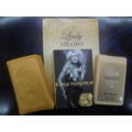 Мини-парфюм в кожаном чехле Paco Rabanne Lady Million 20ml