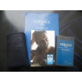 Мини-парфюм в кожаном чехле Versace Eau Fraishe Man 20ml