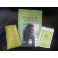 Мини-парфюм в кожаном чехле Versace Versense 20ml