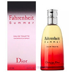 Мужская туалетная вода Christian Dior Fahrenheit  Summer 100ml